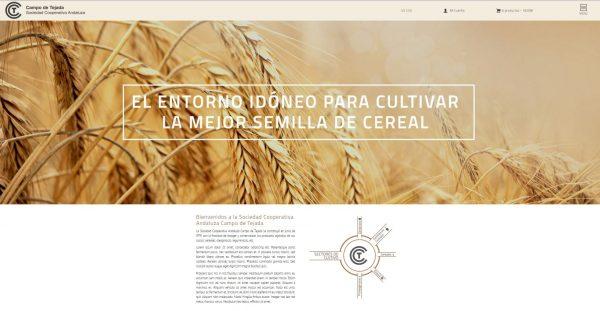 Campo de Tejada estrena página web